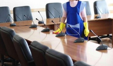 Office Cleaning Services With a Purpose