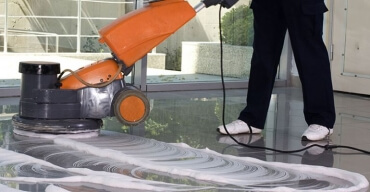 Floor Scrubbing & Polishing In Mansarover Garden